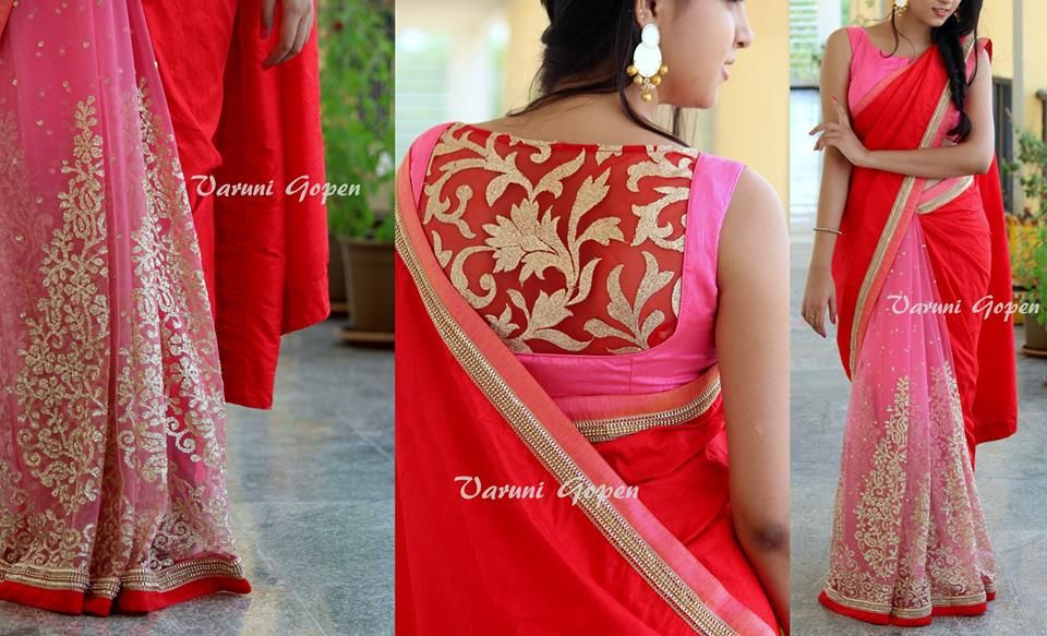183b424ff58a98 Blouse back neck designs for silk sarees. 30+ Trendy Blouse Back Neck  Designs For Silk Sarees • Keep Me Stylish ...