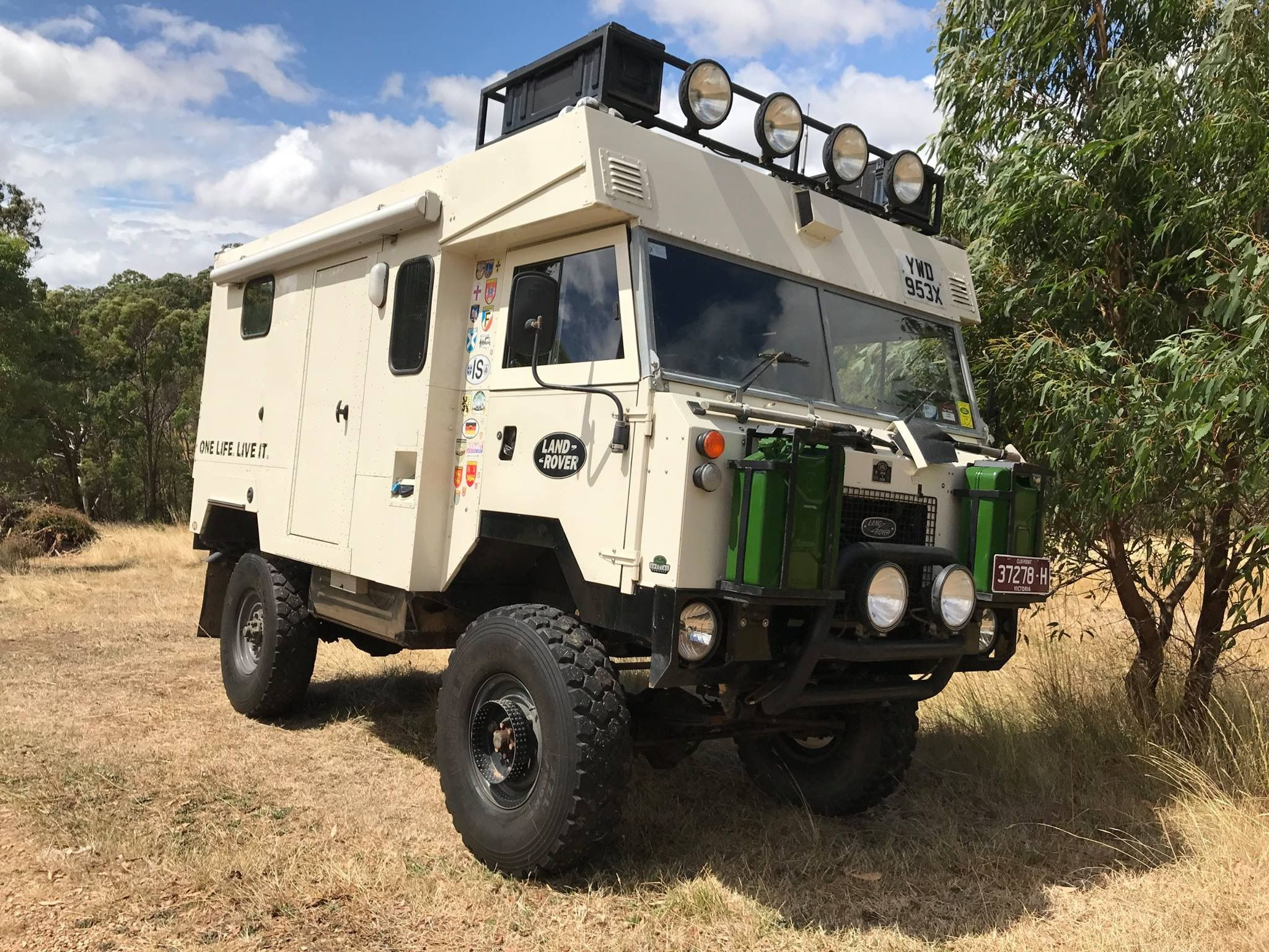 Landrover 101 Camper Land Rover Off Road Camping Expedition