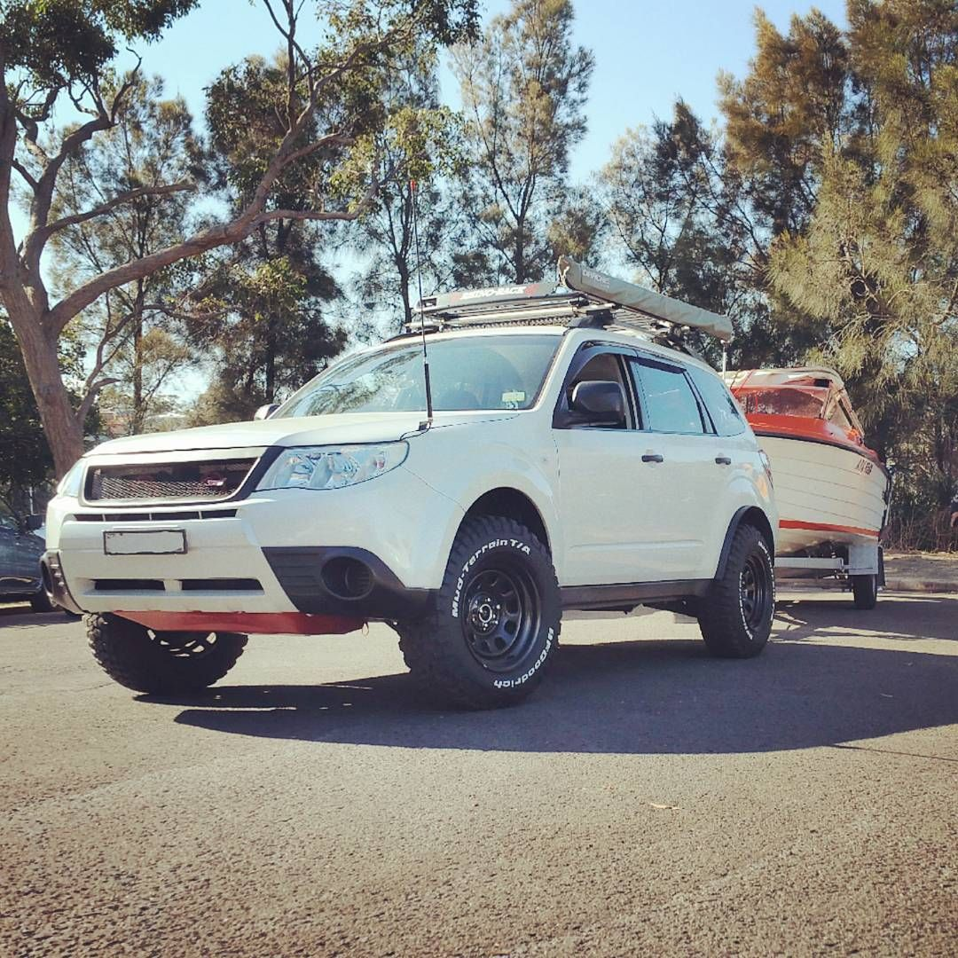 100 Subaru Forester f Road Lifted