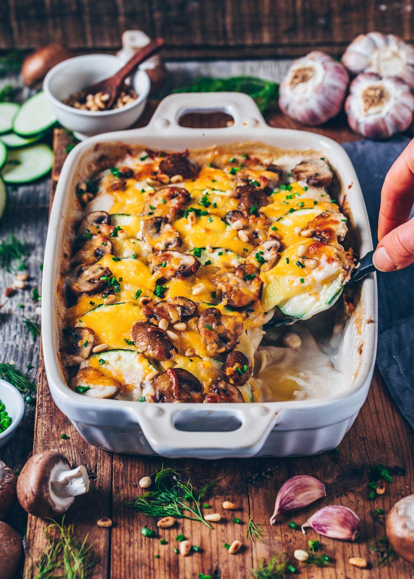 Vegan Potato Bake Potatoes Au Gratin
