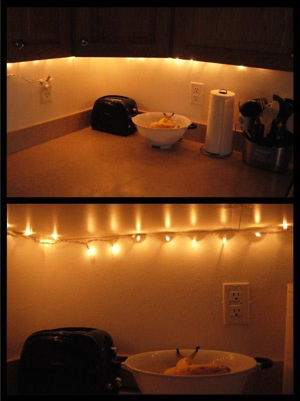 Use A Short Strand Of Twinkle Lights For An Easy 2 Minute
