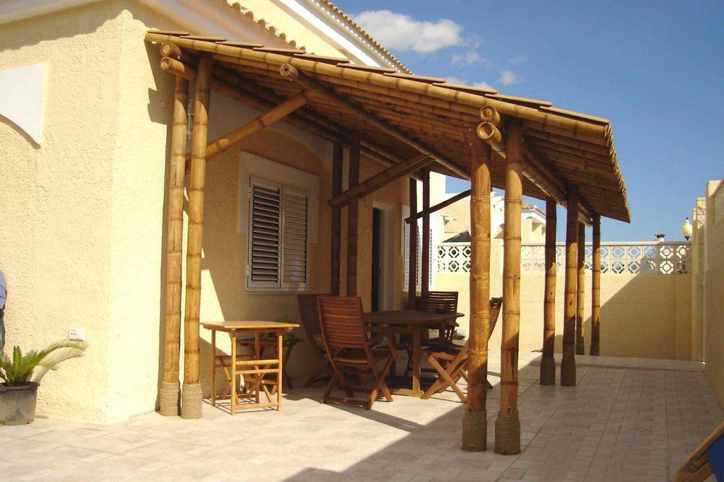 Pergolas de bambu buscar con google outside spaces - Pergolas de bambu ...