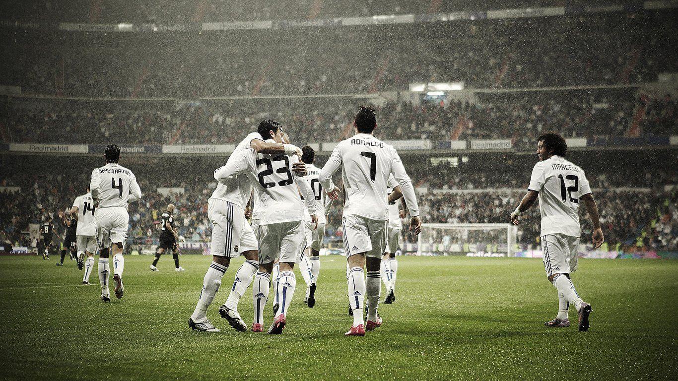 Real Madrid Legends Best Wallpaper Hd Real Madrid Team Ronaldo Football Football Wallpaper