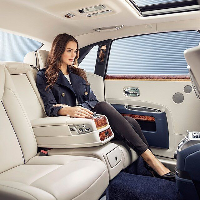 Cocoon Yourself In Luxury Be Embraced By Soft Leather Sink Into Lambswool Floor Mats The Ghost Extended W Rolls Royce Rolls Royce Motor Cars Rolls Royce Cars