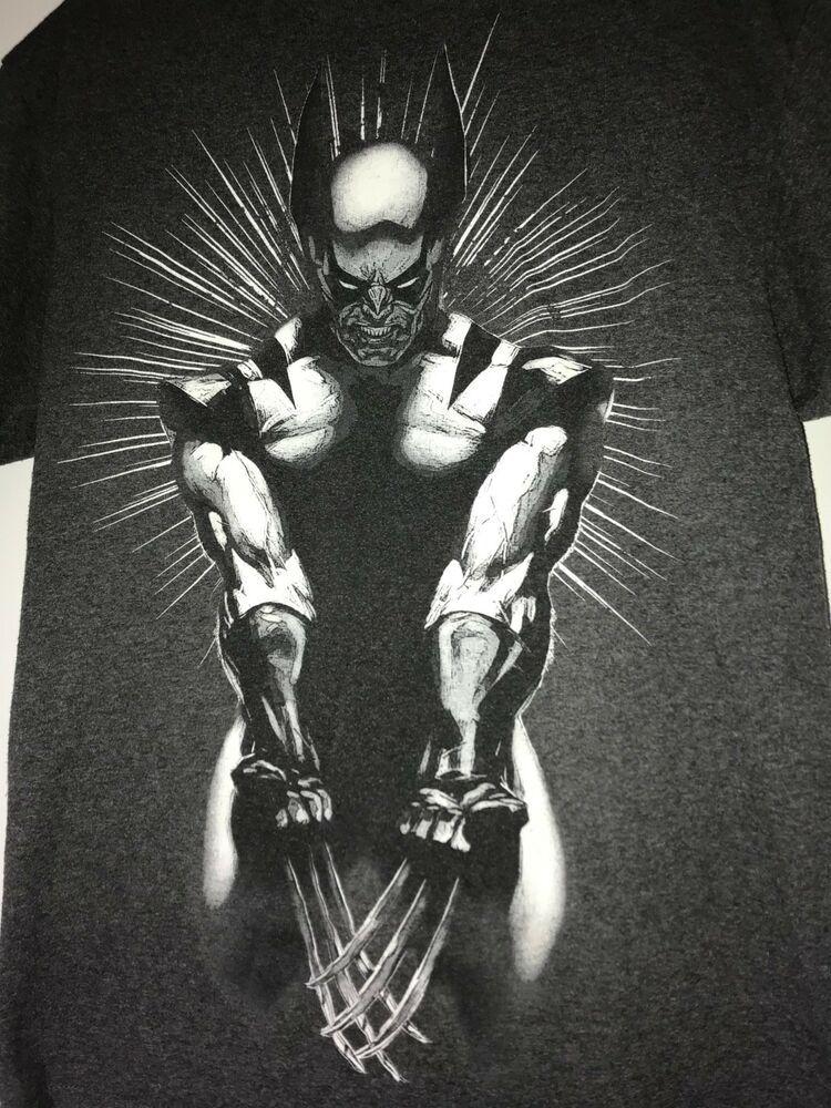 546cbf0ef Marvel X-Men Wolverine's T-shirt Black and White Size Large Marvel #fashion  #clothing #shoes #accessories #mensclothing #shirts (ebay link)