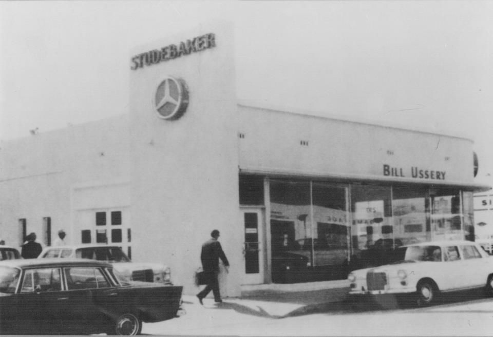 Mercedes benz coral gables 1950 39 s dealerships of for Mercedes benz coral gables