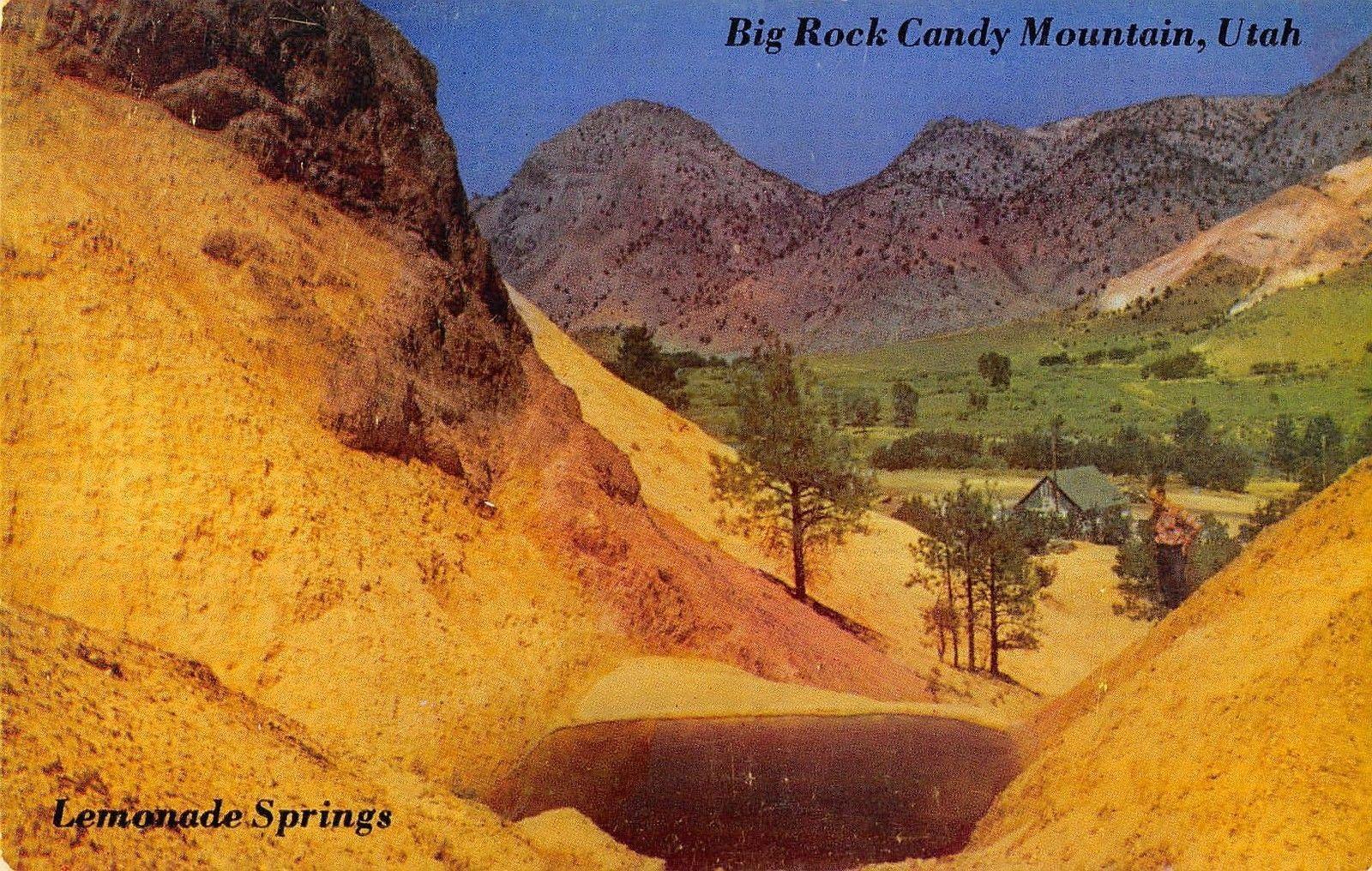 Big Rock Candy Mountain Utah View of Lemonade Springs | Utah ...
