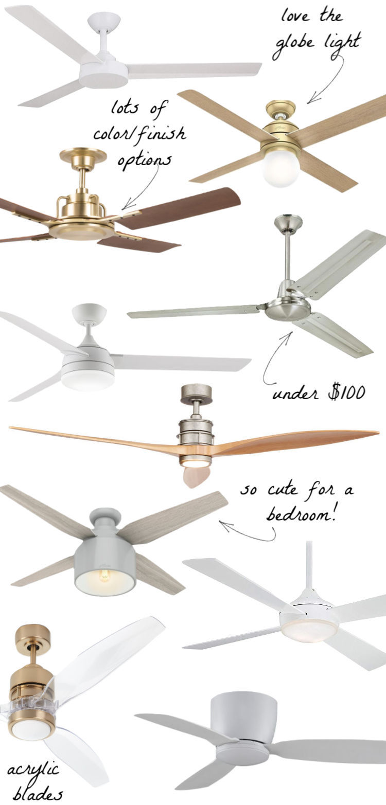 Ten Pretty & Stylish Ceiling Fans (It's Time to Kick Your