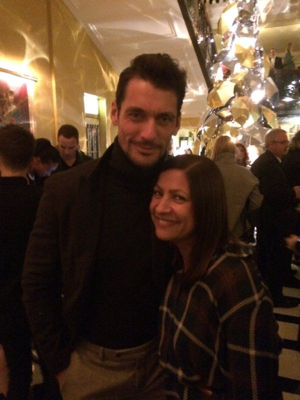 David Gandy today in event Burberry at The Claridges Hotel, London | via Mantejd || 18/11/15