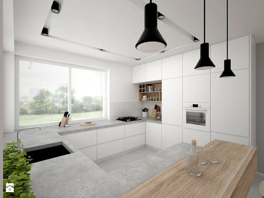 Dom 65 M2 Duża Otwarta Kuchnia W Kształcie Litery G