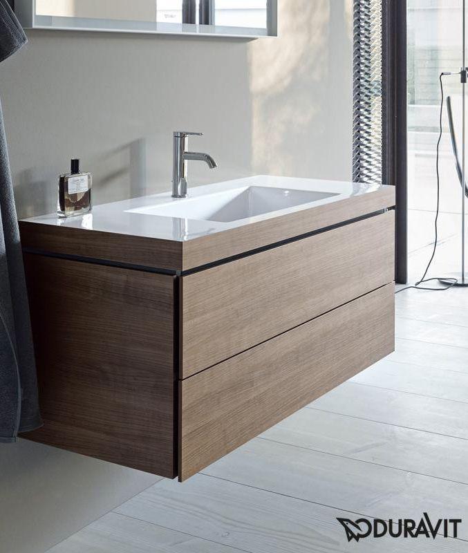 Duravit Vero Air: Der Waschtisch mit Waschtischunterschrank ... | {Doppelwaschtisch aufsatzwaschbecken duravit 92}