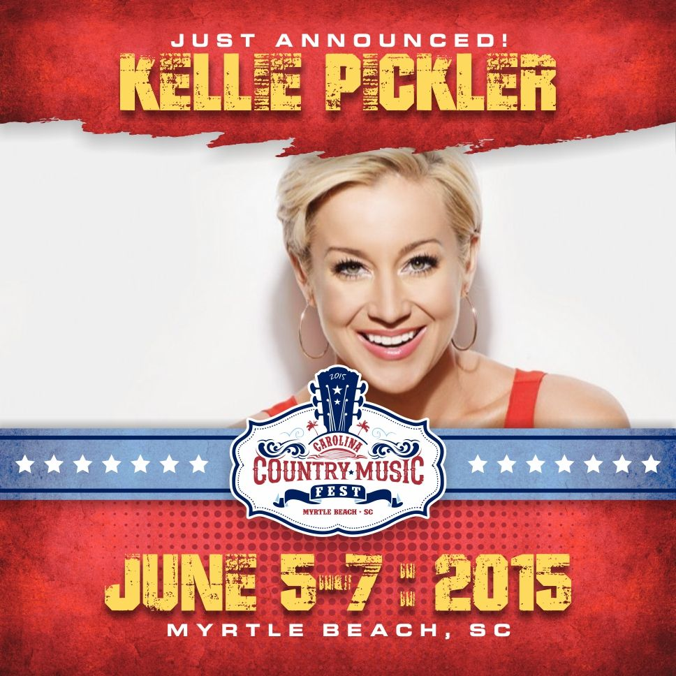 Kellie Pickler to play at CCMF Sunday June 7! Country