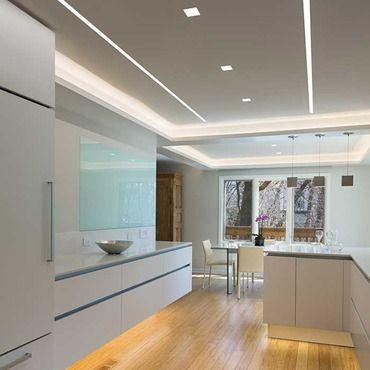 Reveal Wall Wash Plaster In Led System 7 5w 24vdc Ceiling Light Design Kitchen Led Lighting Plaster Ceiling Design