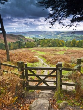"""Peak District National Park, England """"What are men to rocks and mountains?"""""""