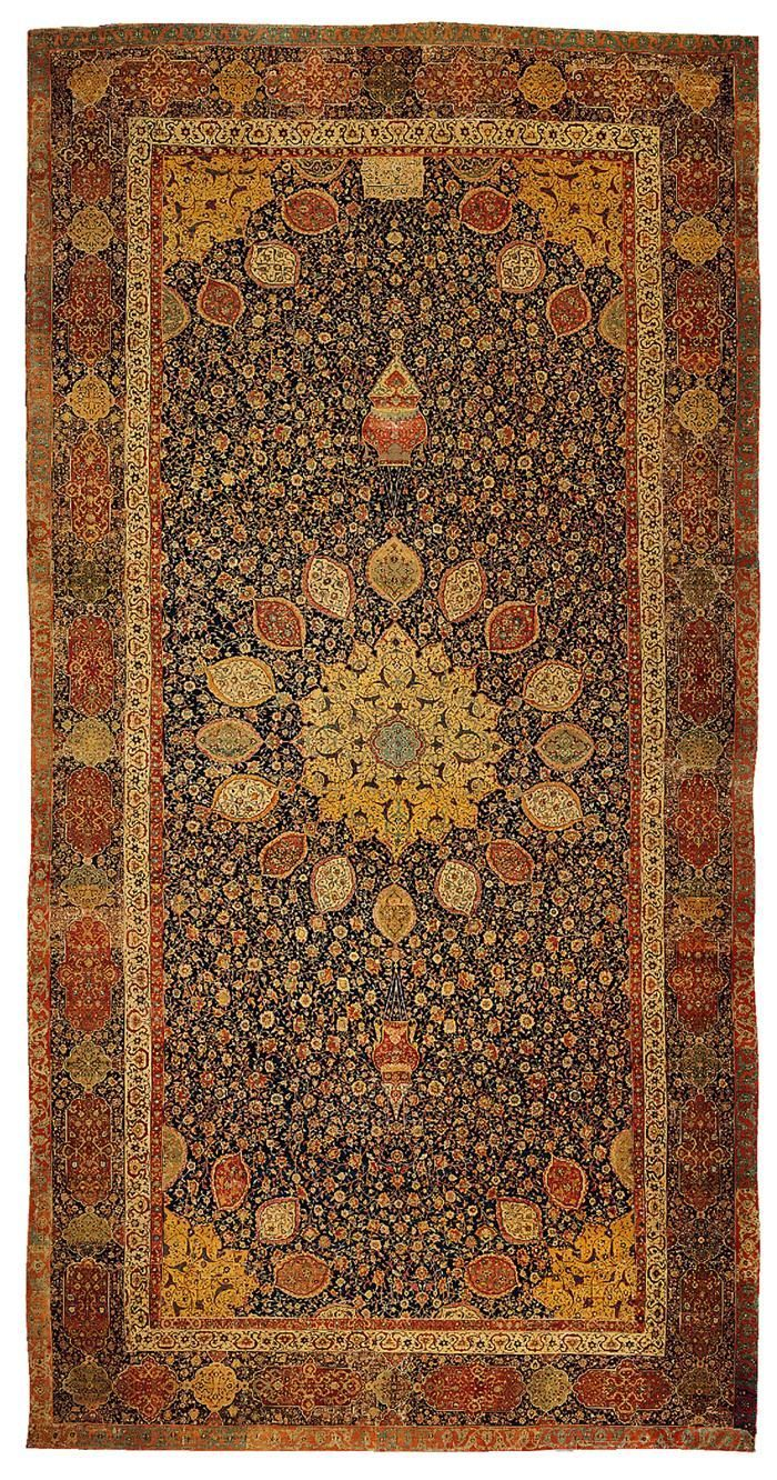 191 The Ardabil Carpet Maqsud Of Kashan 1539 1540 C E Silk And Wool Image Set Persian Carpet Rugs Persian Rug