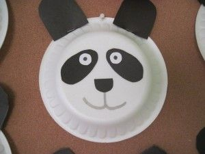 paper plate panda bear craft & paper plate panda bear craft | Bear craft idea | Pinterest | Bear ...