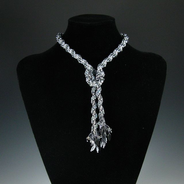 Beadwoven 2-part Necklace   Flickr - Photo Sharing!