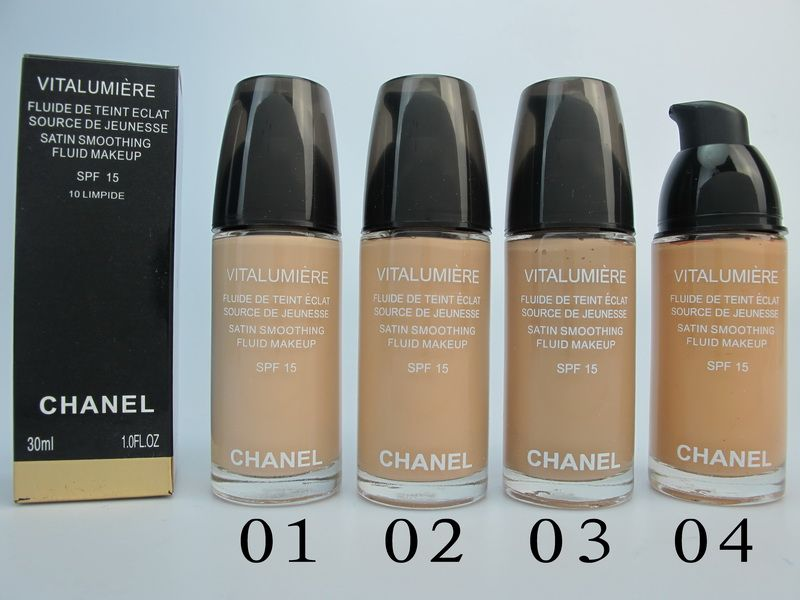 Chanel Makeup Vitalumiere Liquid Foundation Spf15 30ml 10oz