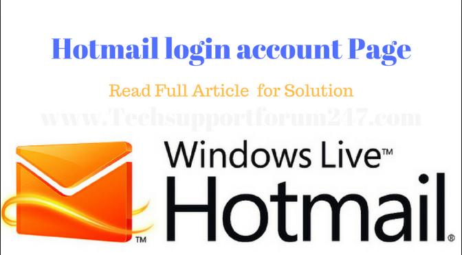 hotmail.com loginn