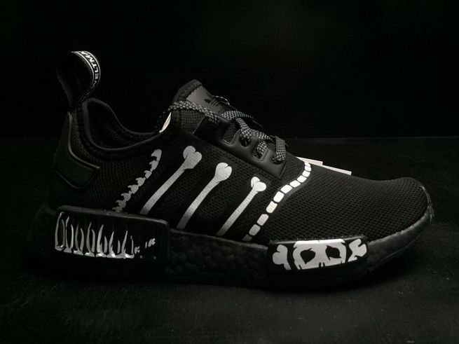 Cheap Priced Men Adidas NMD R1 Mastermind Black BA7255 On Line ... fda1c9380