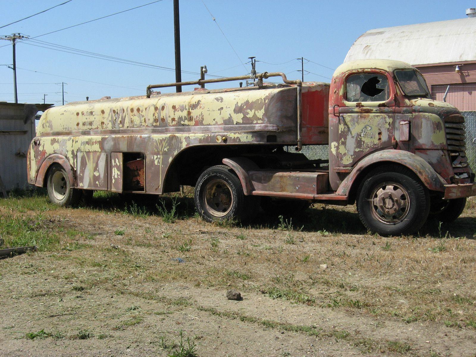 1938 gmc coe tanker truck