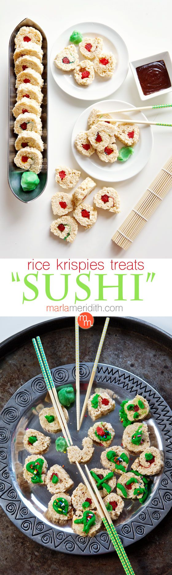 "Rice Krispies Treats ""Sushi"" 