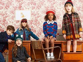 Photo of Plaids, prints and animal adorned satchels mix in the Gucci Kids' back to school collection.