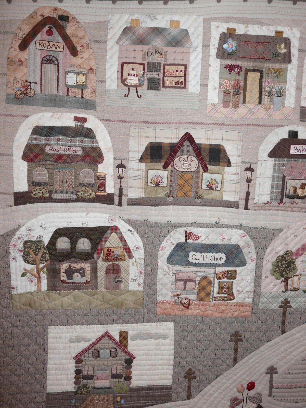 Mi hogar de patchwork reiko kato paneles pinterest - Reiko kato patchwork ...