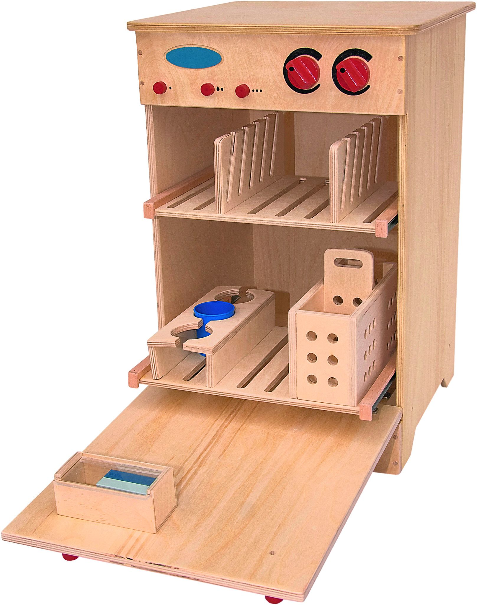 wooden dishwasher | imaginative play | dishwasher, wooden