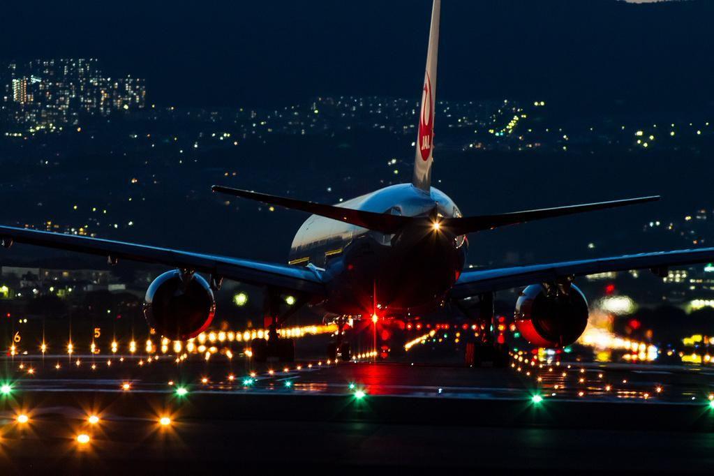 Night Flight - Boeing 777, Aircraft