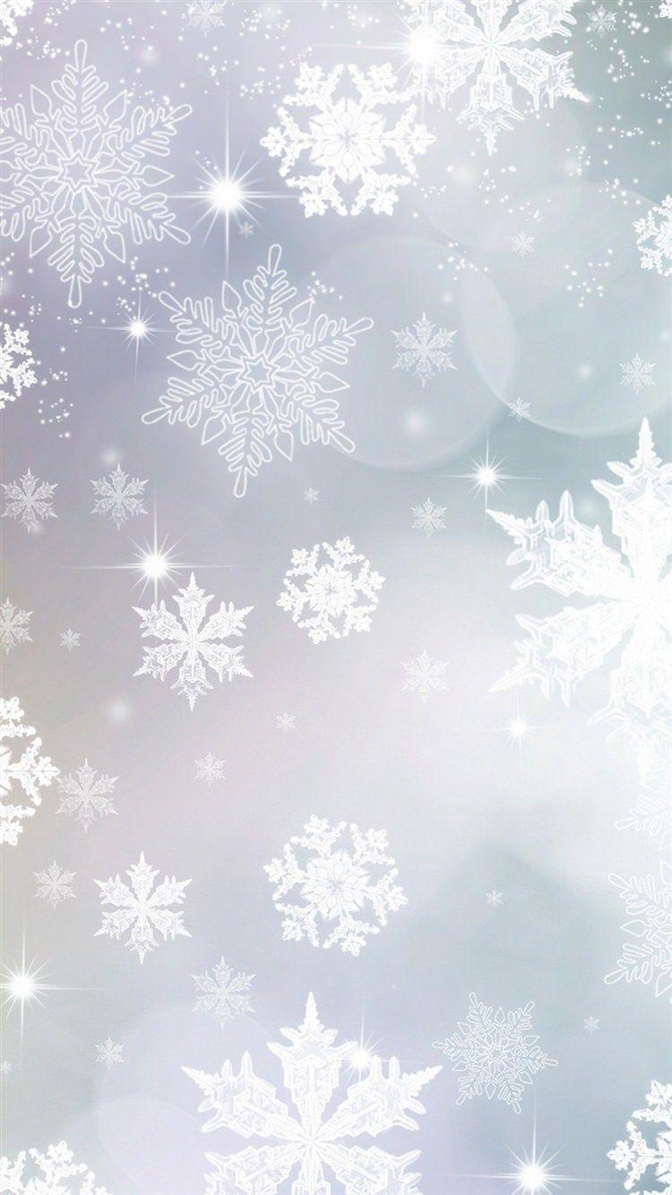 白の雪紋 Iphone6壁紙 冬の壁紙 クリスマスの壁紙 クリスマス壁紙