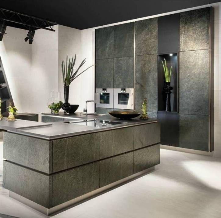 German Kitchen Cabinets: Slate Kitchen, Green Kitchen