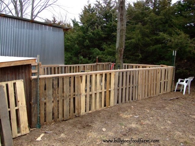 Pallets Are Your New Fence Pallets Are Durable And Most Importantly You Can Actually Get Them For Free Lets Wood Pallet Fence Pallet Fence Wood Fence Design