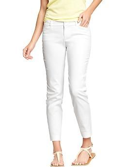Women's The Pixie Stretch-Twill Skinny Ankle Pants