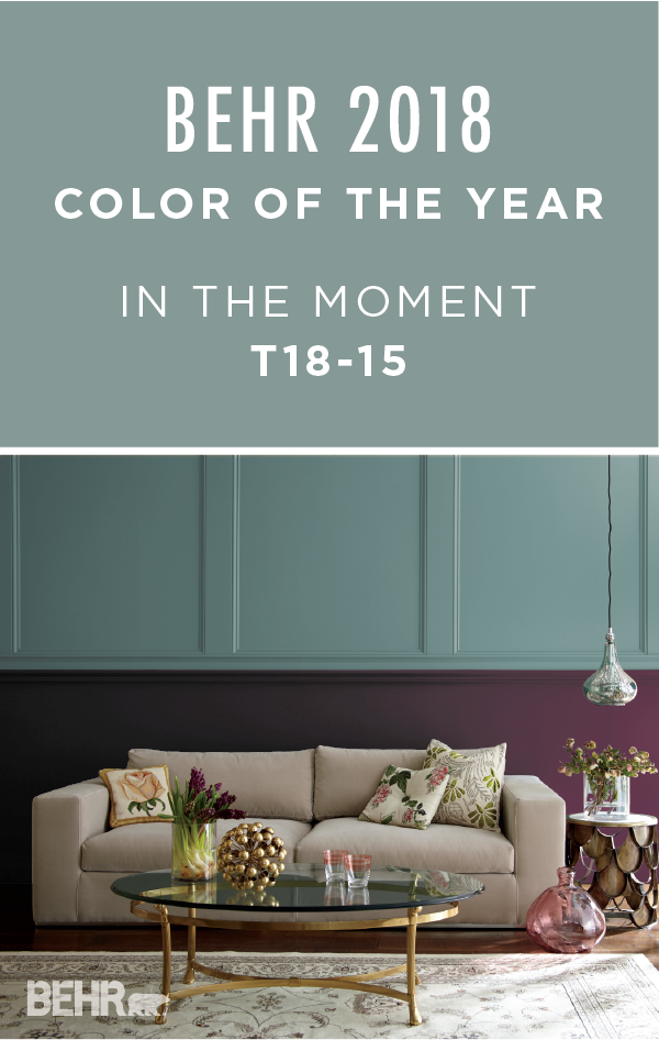how will you choose to use the behr 2018 color of the year