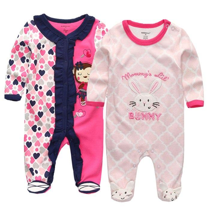 2018 Baby Clothes Full Sleeve Cotton Infantis Baby Clothing Romper Cartoon Costume Ropa Bebe 3 6 9 12 M Newborn Boy Girl Clothes Winter Baby Clothes Baby Girl Outfits Newborn Baby Girl Clothes