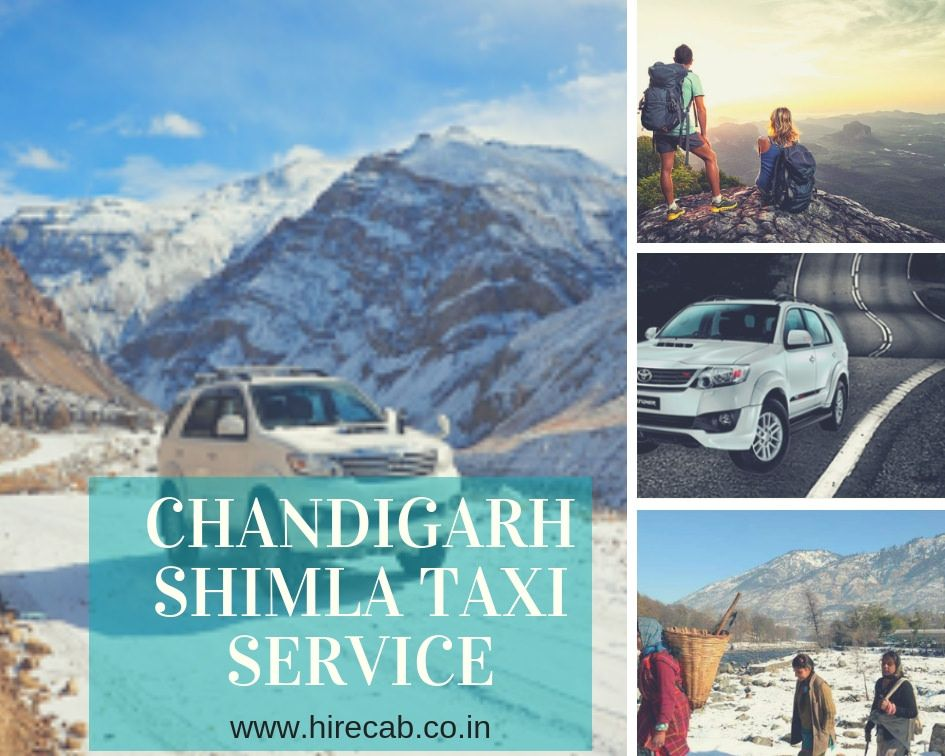 Chandigarh Shimla Taxi Service Chandigarh Shimla Taxi Services