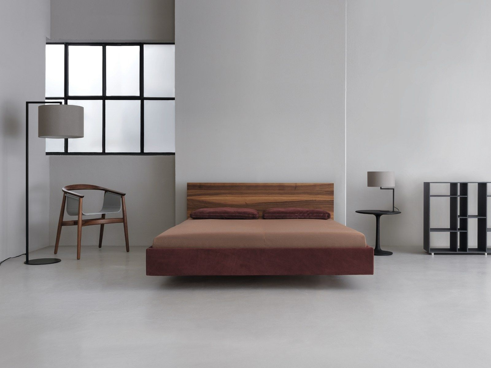 Cama doble de madera maciza SIMPLE SOFT by ZEITRAUM diseño ...