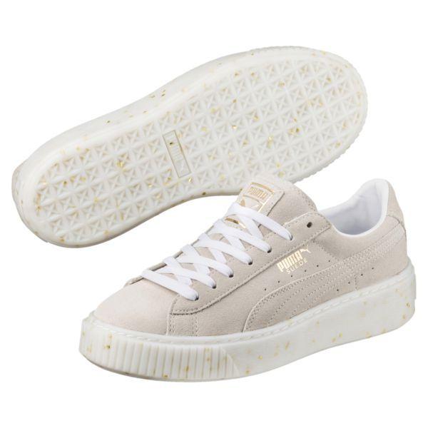 883ea282b69 Image 1 of Suede Platform Celebrate Women s Sneakers