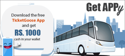 Browse freecouponcodes.co.in to use ticket goose coupons to get  get Rs.1000 Cashback in Ticketgoose Wallet offers and want to download ticketgoose app in ur mobile @ ticketgoose.com for shop Online bus ticket booking With minimum fare Book Volvo bus, AC sleeper and other luxury buses at TicketGoose.com, it has over 1000 travel Operators and 10,000 Routes.