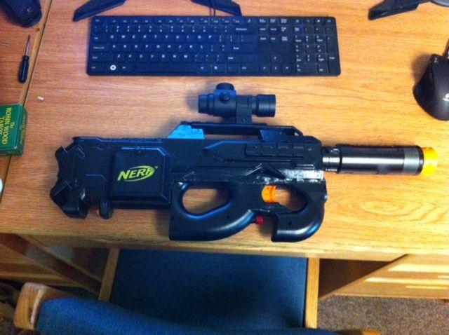 Nerf Rayven/FN P90 Mod
