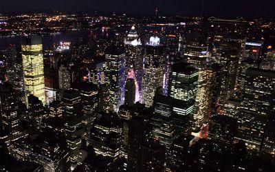 New York City Night Nyc At Night New York Night City Wallpaper