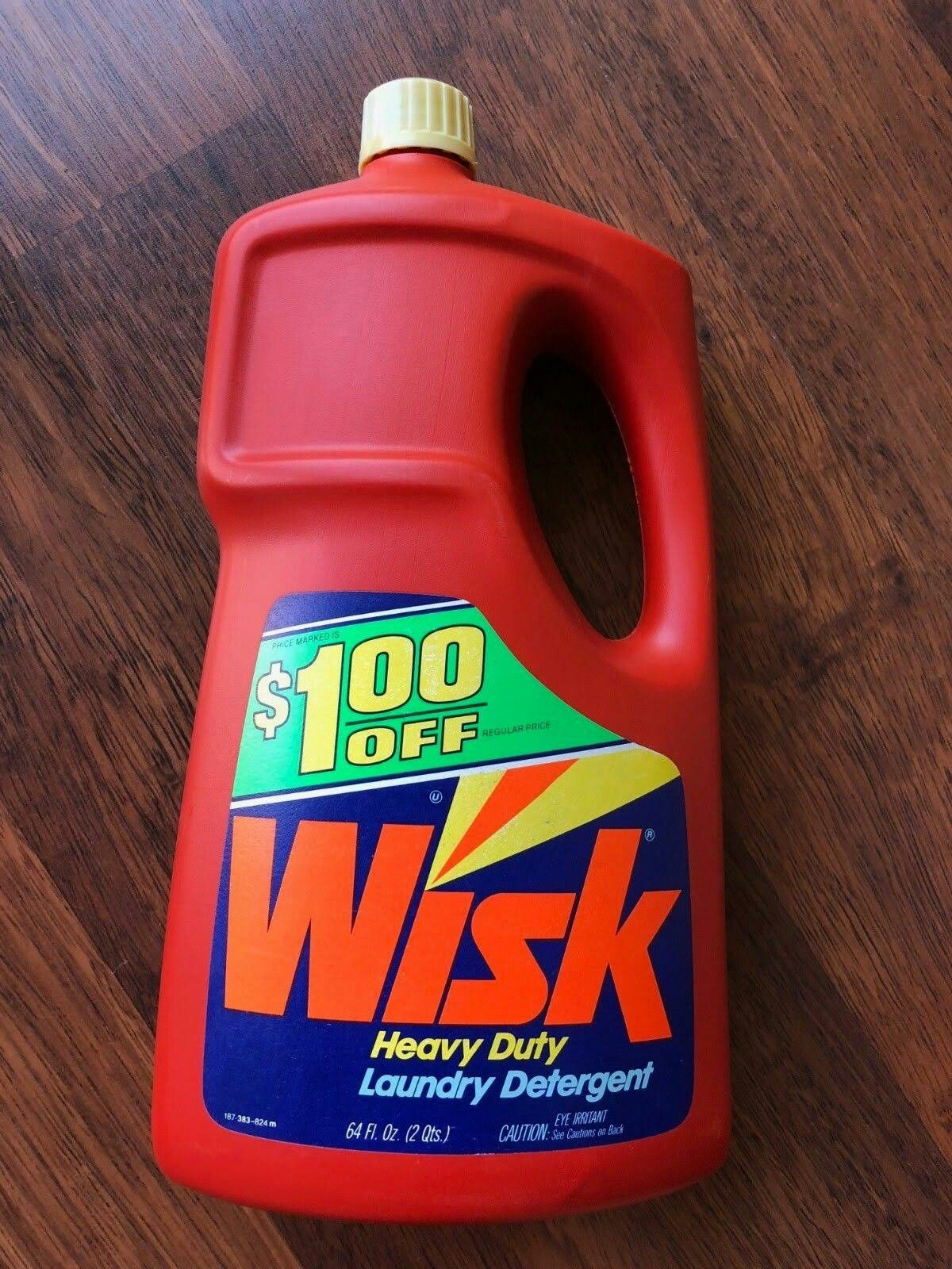 Wisk Liquid Laundry Detergent 64oz Jug Liquid Laundry