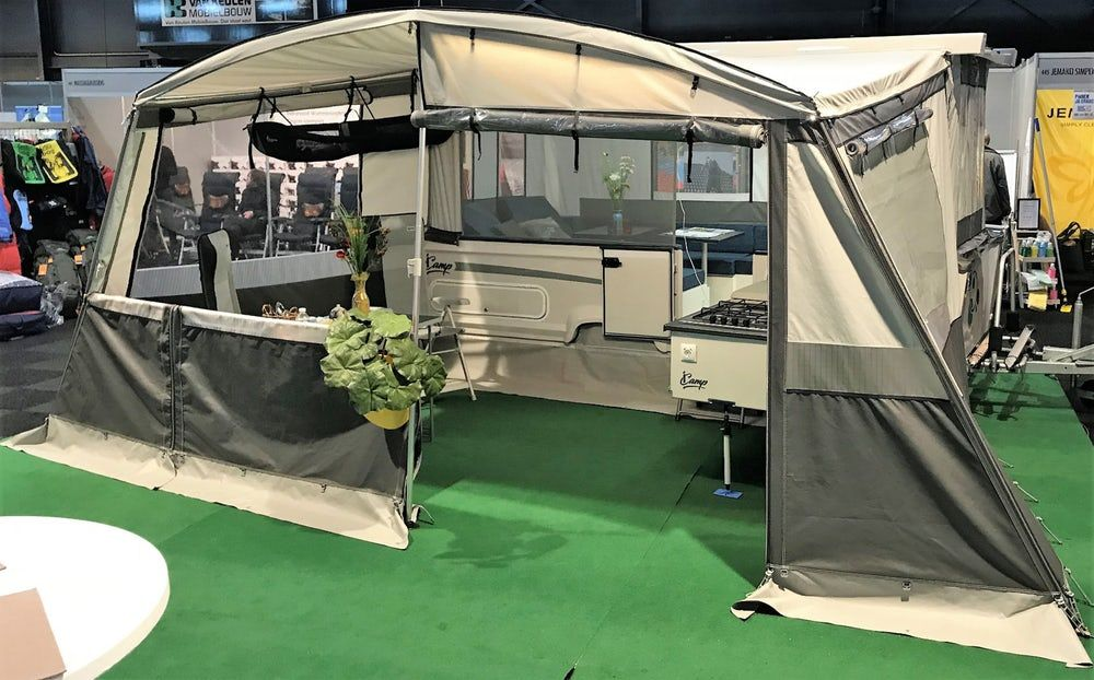 A Lightweight Awning And Screen Room All In One Rv Screen Rooms Pop Up Awning Awning