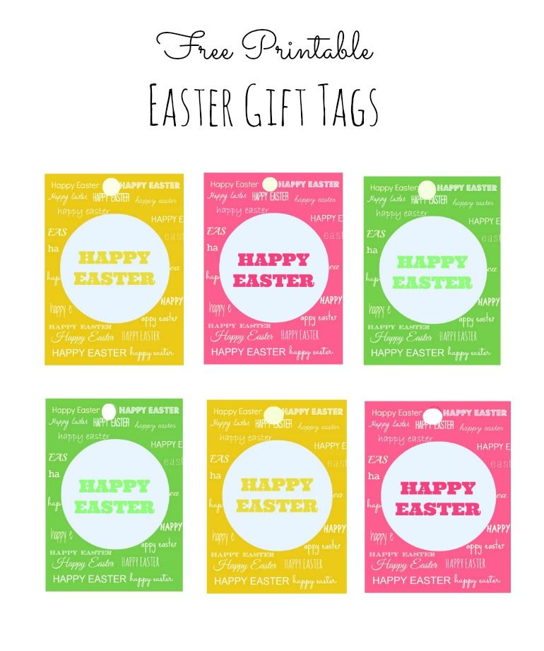 Easter gift tags free printable template wrap it up the easter gift tags free printable template negle Choice Image