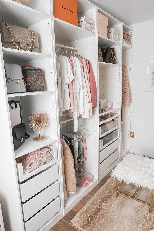 Cloffice Makeover Reveal Closet small bedroom, Ikea