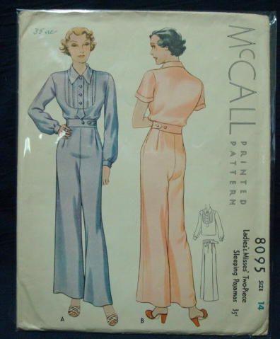 1930s pajamas | Tumblr