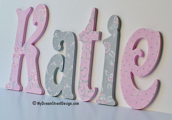 Pin On Baby Nursery Wall Letters