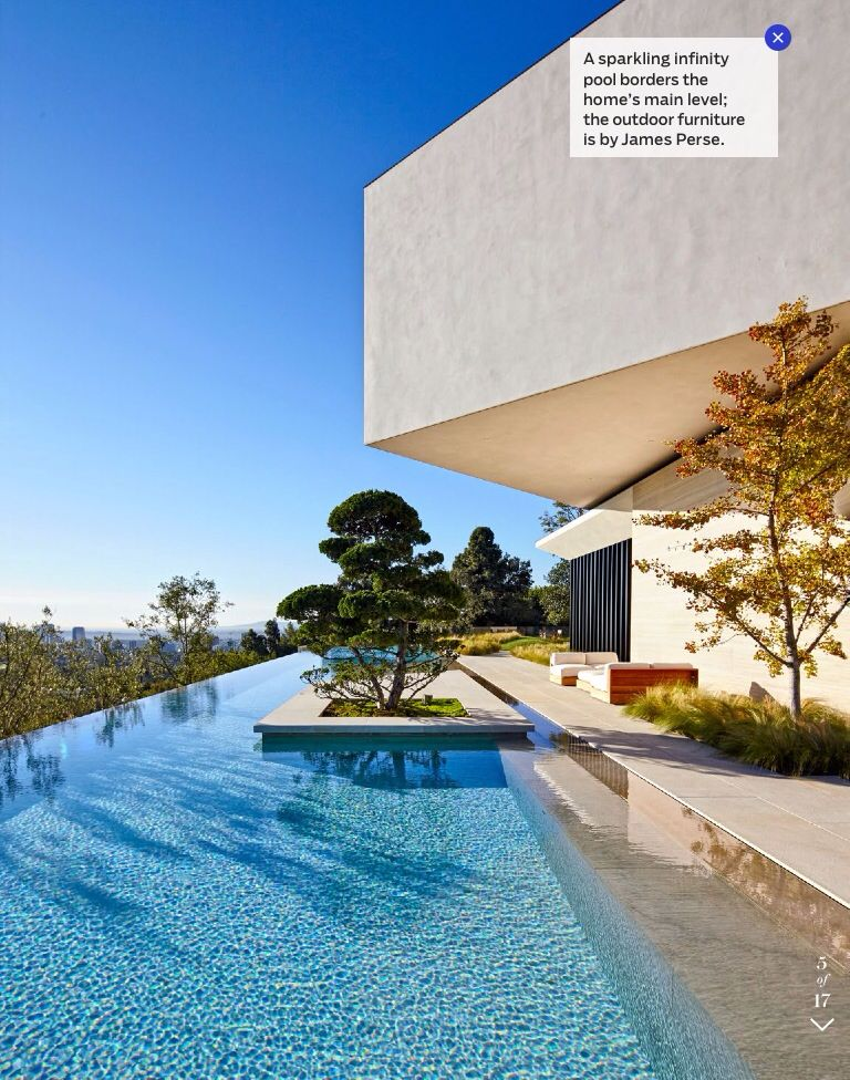 Tree in pool   Hollywood homes, Celebrity houses, Real ...