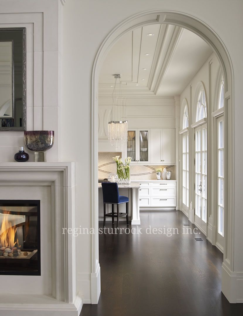 Burlington Interior Design Project: Contemporary Classicism | Regina ...